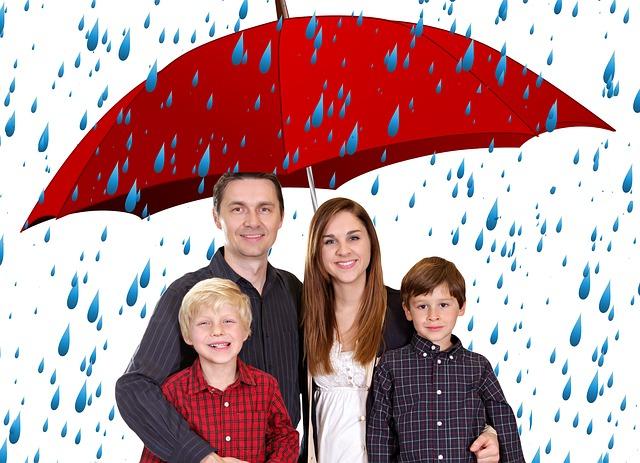 velký deštník
