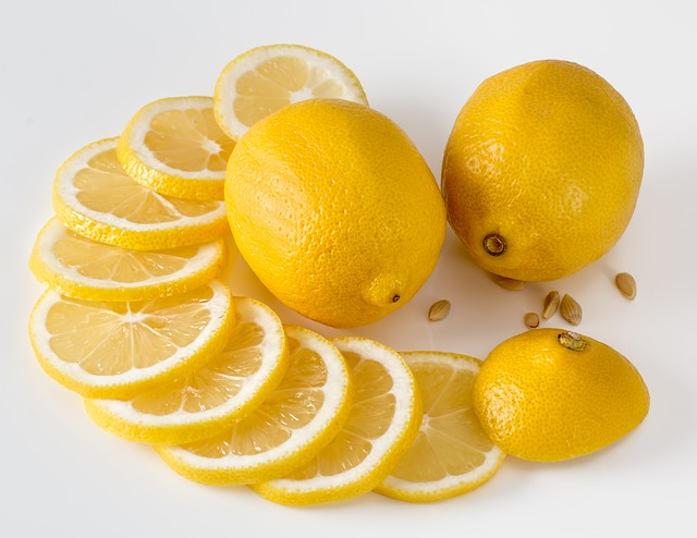 kolečka citronů