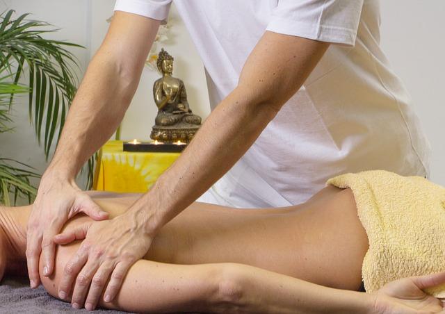 masáž ramenou