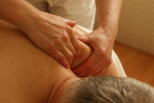masáž ramene
