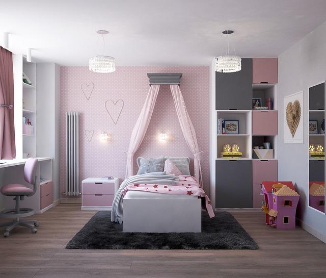 ložnice pro dívky